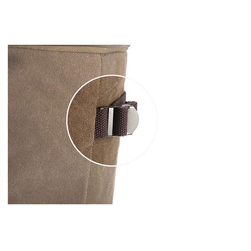 14854 - Дорожная сумка-рюкзак Dezerto Tubus XL: холщовая ткань, ручки-трансформеры, 47 л, объемный внешний карман