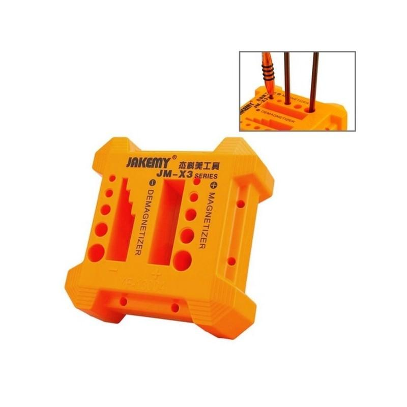 Магнитайзер-демагнитайзер JM-X3 для отверток, бит и другого инструмента