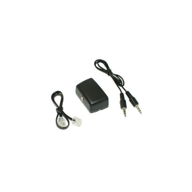 1526 - Переходник-адаптер с аудиовыходом для стационарного телефона P-B46