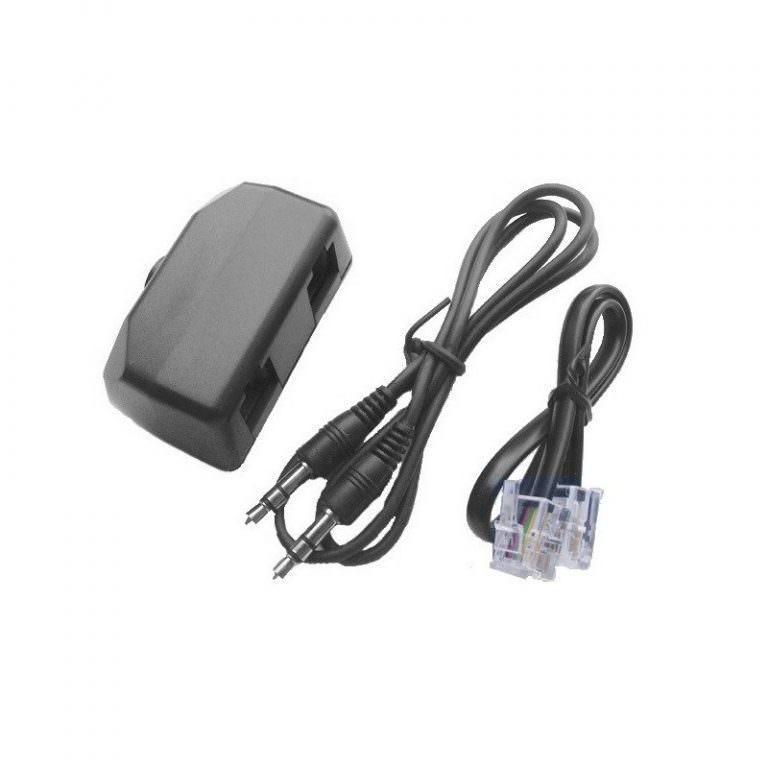 1527 - Переходник-адаптер с аудиовыходом для стационарного телефона P-B46