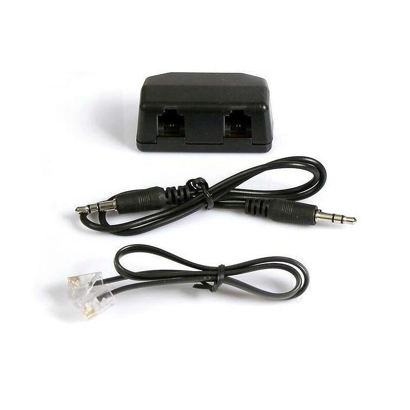 Переходник-адаптер с аудиовыходом для стационарного телефона P-B46 184543