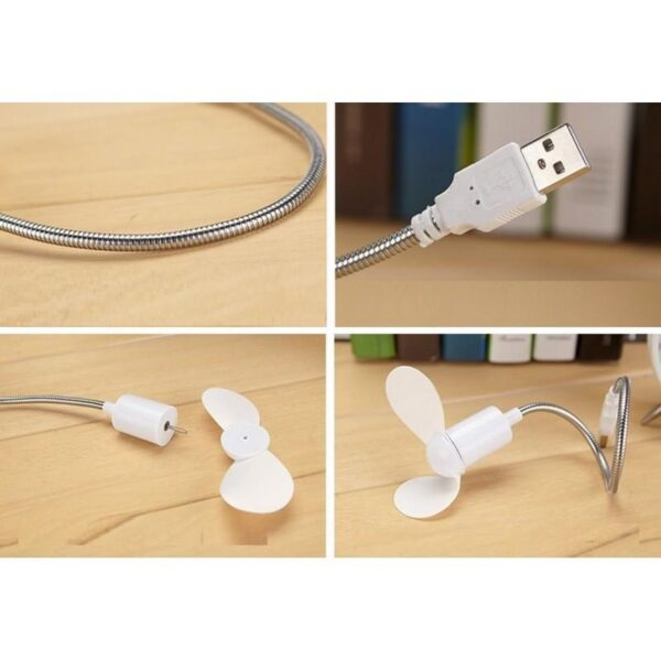 15377 - Миниатюрный USB-вентилятор для ноутбука