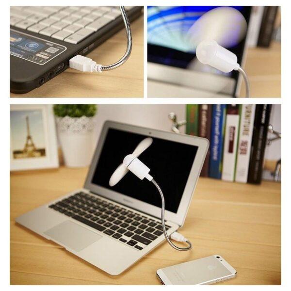 15379 - Миниатюрный USB-вентилятор для ноутбука