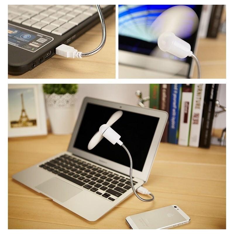 Миниатюрный USB-вентилятор для ноутбука 195847