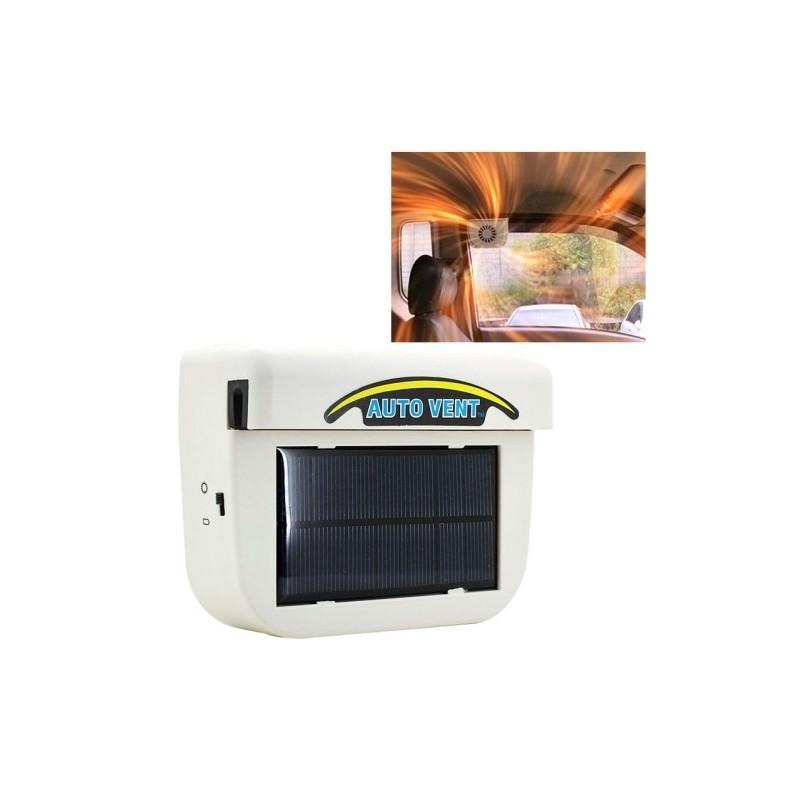 Автомобильный дверной вентилятор-вытяжка на солнечной батарее