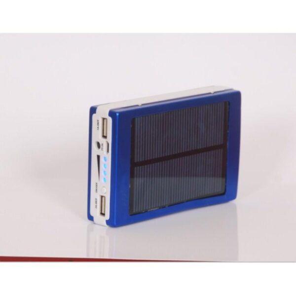15510 - Солнечное зарядное SolarPowerBank 20 000: 6500 мАч + светодиодный фонарь 800 люмен