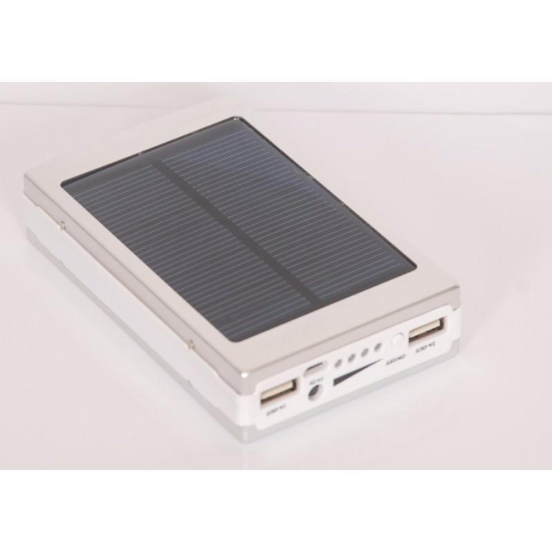 Солнечное зарядное SolarPowerBank 20 000: 6500 мАч + светодиодный фонарь 800 люмен 195964