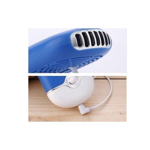 """15531 - Портативный """"Электровеер""""- USB вентилятор-кондиционер с системой влажного охлаждения"""