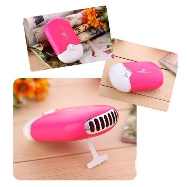 """15536 - Портативный """"Электровеер""""- USB вентилятор-кондиционер с системой влажного охлаждения"""