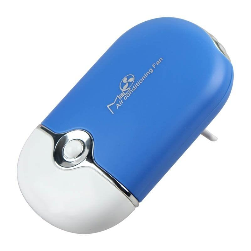 """Портативный """"Электровеер""""- USB вентилятор-кондиционер с системой влажного охлаждения 196007"""