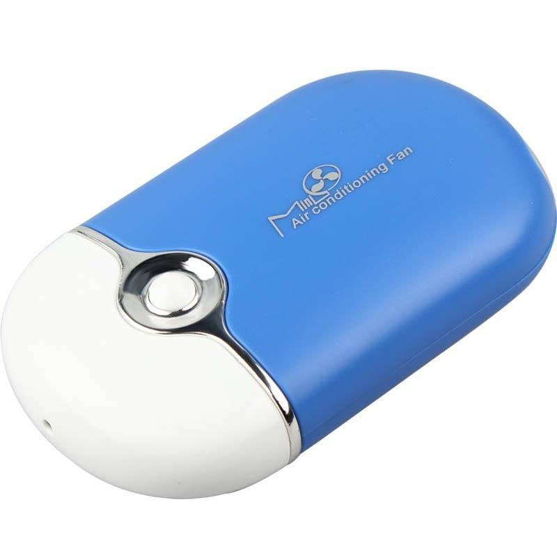 """Портативный """"Электровеер""""- USB вентилятор-кондиционер с системой влажного охлаждения 196011"""