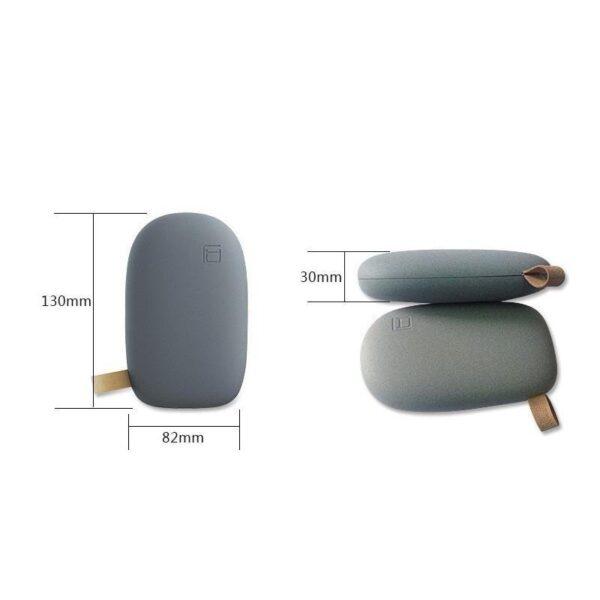 15943 - Стильный PowerBank M-Stone - 10400 мАч, 3 цвета, 2 х USB, индикатор заряда