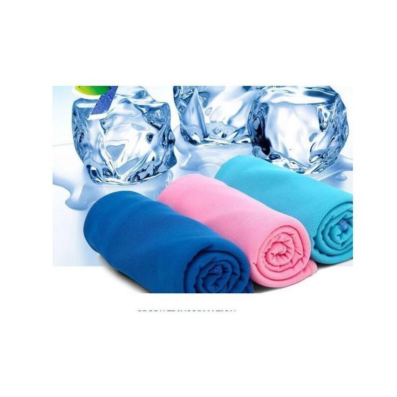 Охлаждающее полотенце IceTowel для спорта и от жары: 30 х 87 см, эффект морозного холода на несколько часов