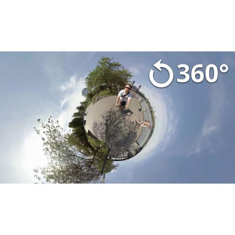 Панорамная 360-градусная экшн-видеокамера Soocoo Cube 360: Wi-Fi, CMOS, 360/190° видео с разрешением 1280 х 1042, 1300 мАч 197230