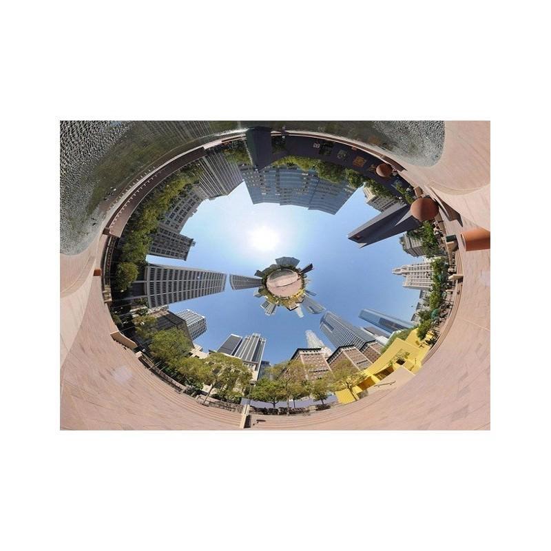 Панорамная 360-градусная экшн-видеокамера Soocoo Cube 360: Wi-Fi, CMOS, 360/190° видео с разрешением 1280 х 1042, 1300 мАч 197231