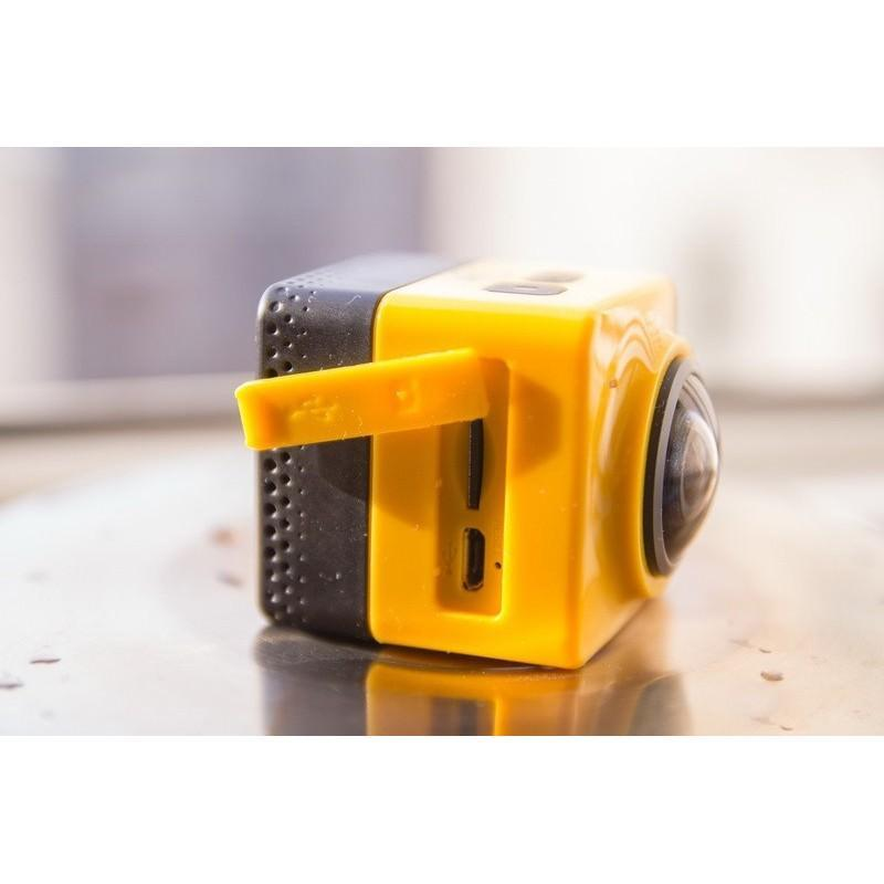 Панорамная 360-градусная экшн-видеокамера Soocoo Cube 360: Wi-Fi, CMOS, 360/190° видео с разрешением 1280 х 1042, 1300 мАч 197232