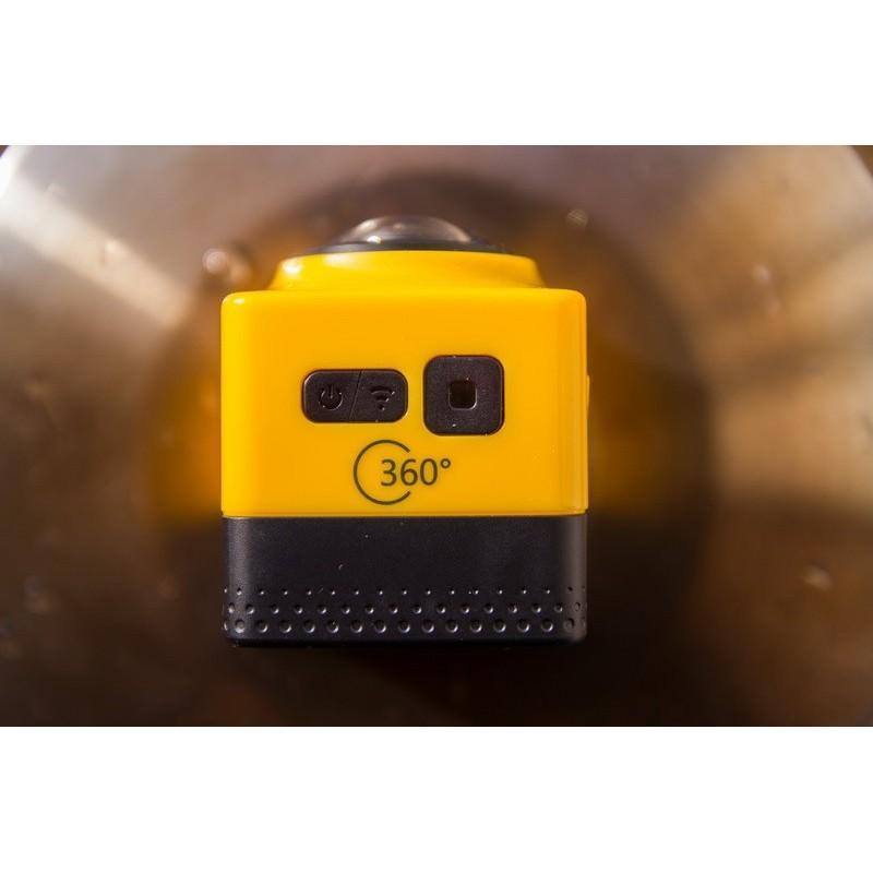 Панорамная 360-градусная экшн-видеокамера Soocoo Cube 360: Wi-Fi, CMOS, 360/190° видео с разрешением 1280 х 1042, 1300 мАч 197233