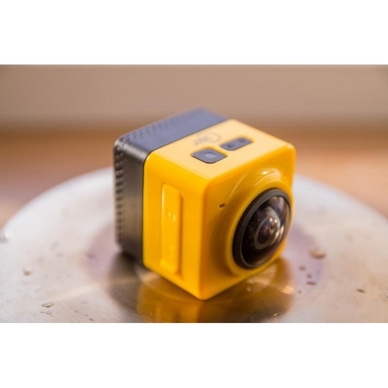Панорамная 360-градусная экшн-видеокамера Soocoo Cube 360: Wi-Fi, CMOS, 360/190° видео с разрешением 1280 х 1042, 1300 мАч 197234