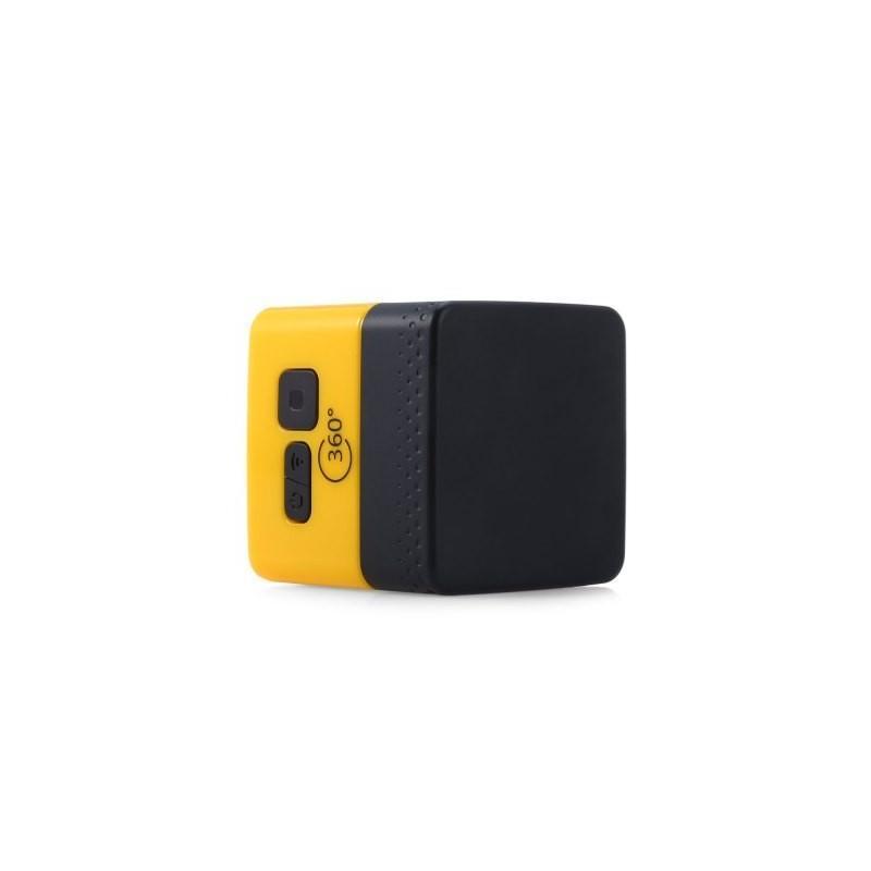 Панорамная 360-градусная экшн-видеокамера Soocoo Cube 360: Wi-Fi, CMOS, 360/190° видео с разрешением 1280 х 1042, 1300 мАч 197236