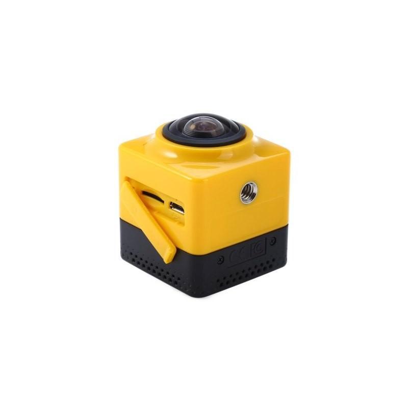 Панорамная 360-градусная экшн-видеокамера Soocoo Cube 360: Wi-Fi, CMOS, 360/190° видео с разрешением 1280 х 1042, 1300 мАч 197237