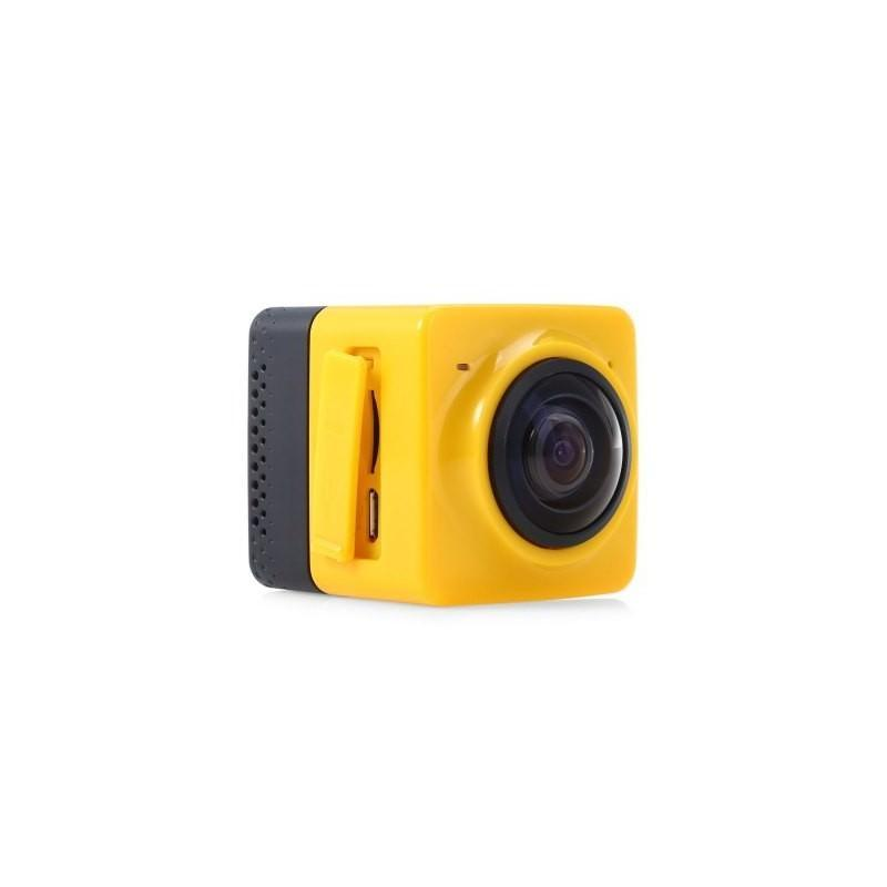 Панорамная 360-градусная экшн-видеокамера Soocoo Cube 360: Wi-Fi, CMOS, 360/190° видео с разрешением 1280 х 1042, 1300 мАч 197238