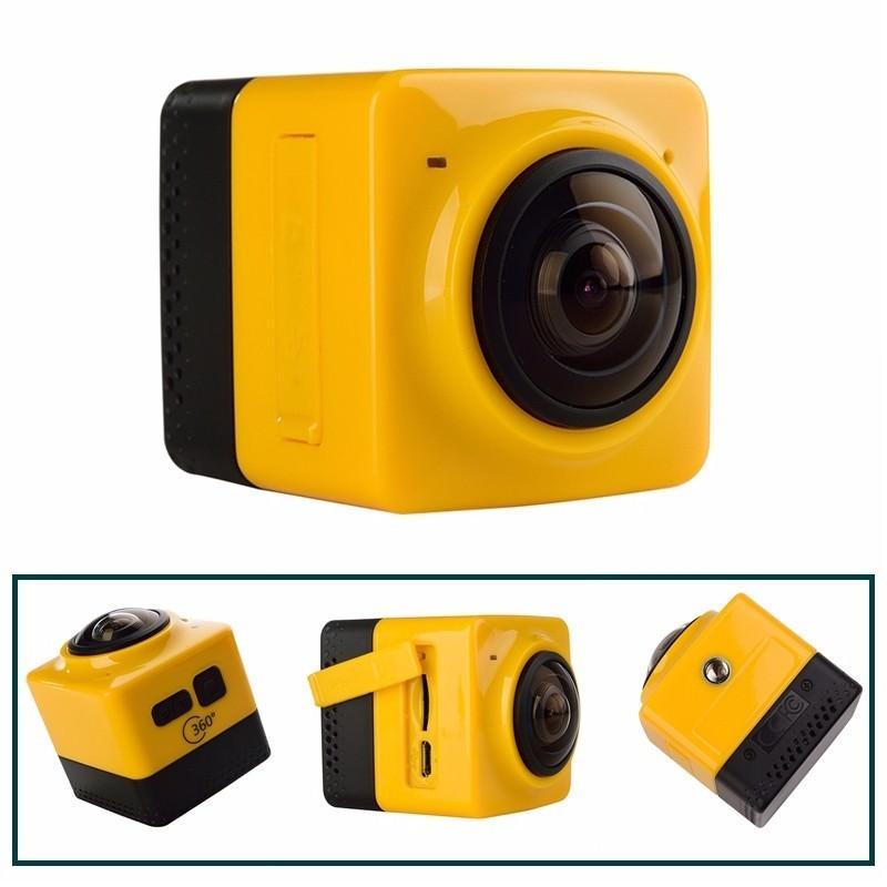 Панорамная 360-градусная экшн-видеокамера Soocoo Cube 360: Wi-Fi, CMOS, 360/190° видео с разрешением 1280 х 1042, 1300 мАч 197240