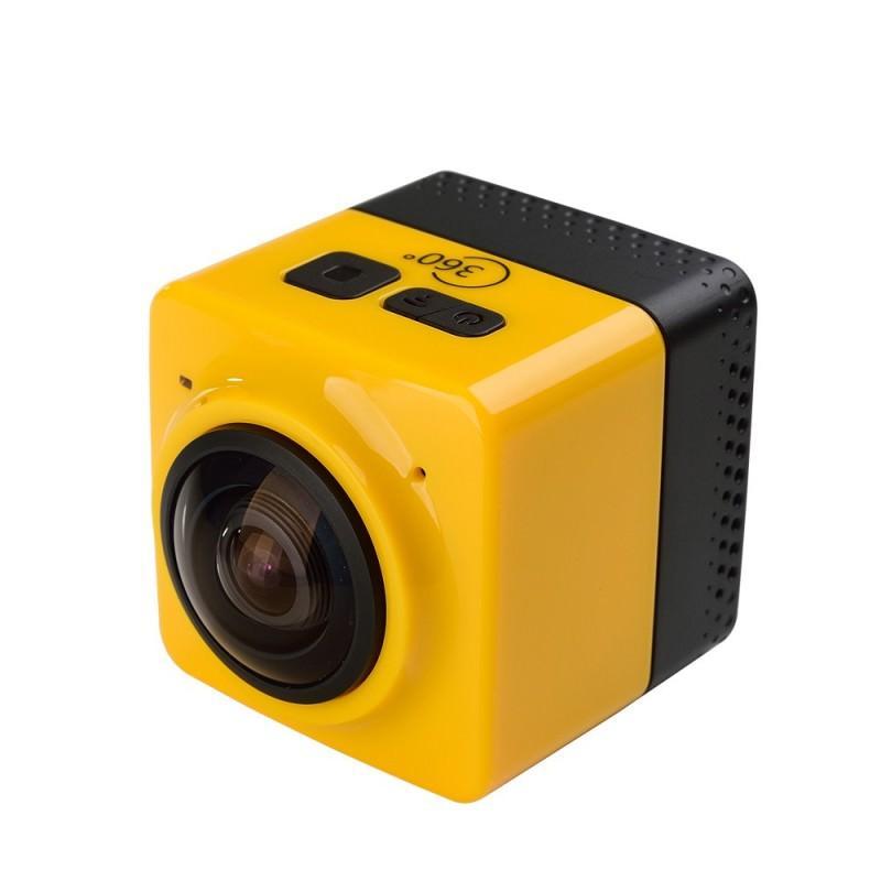 Панорамная 360-градусная экшн-видеокамера Soocoo Cube 360: Wi-Fi, CMOS, 360/190° видео с разрешением 1280 х 1042, 1300 мАч 197241