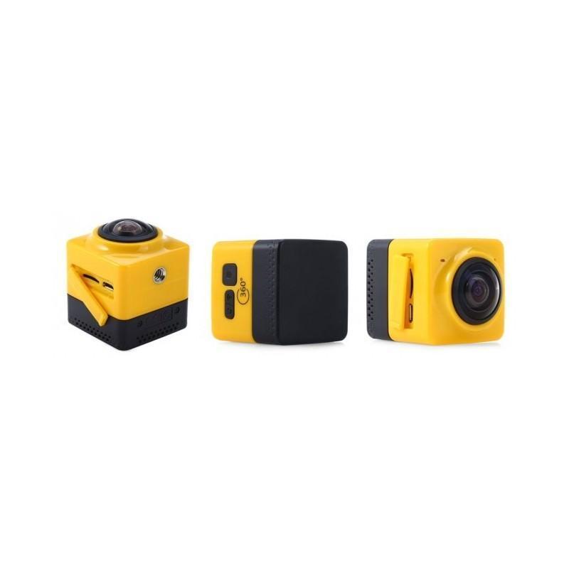 Панорамная 360-градусная экшн-видеокамера Soocoo Cube 360: Wi-Fi, CMOS, 360/190° видео с разрешением 1280 х 1042, 1300 мАч 197242