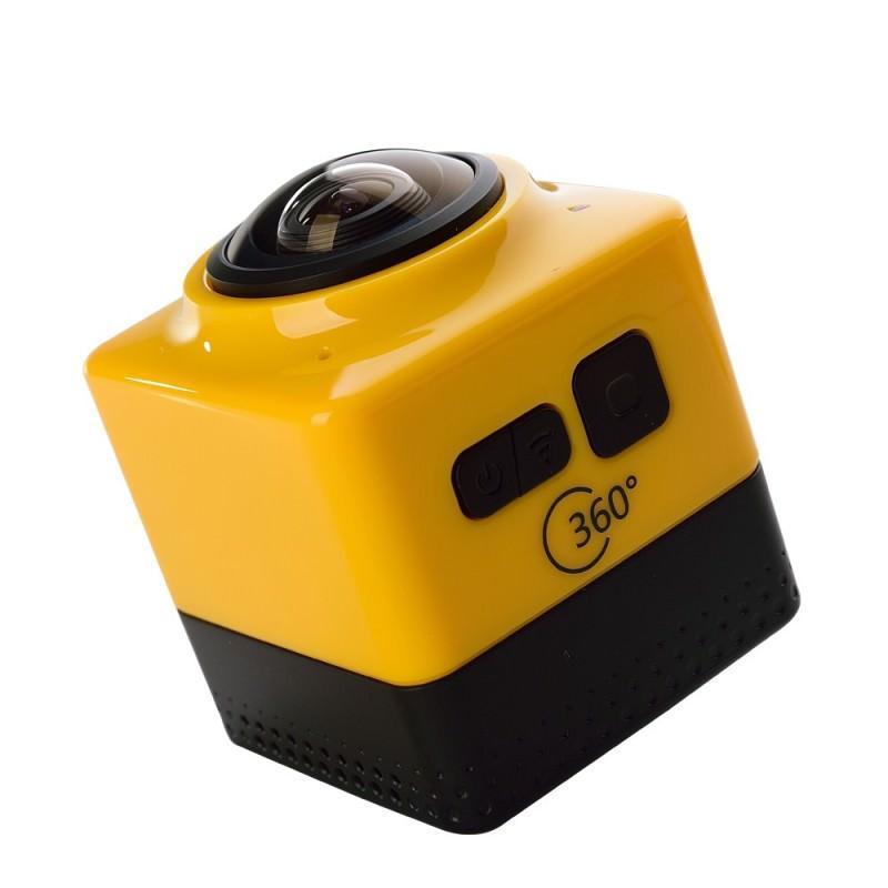 Панорамная 360-градусная экшн-видеокамера Soocoo Cube 360: Wi-Fi, CMOS, 360/190° видео с разрешением 1280 х 1042, 1300 мАч 197243