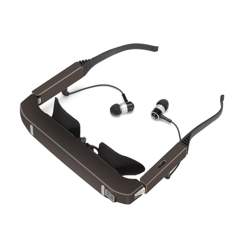3D видеоочки виртуальной реальности Vision 800: Android 4.4, Side By Side, 5Mп камера, поддержка 1080p, Bluetooth, Wi-Fi