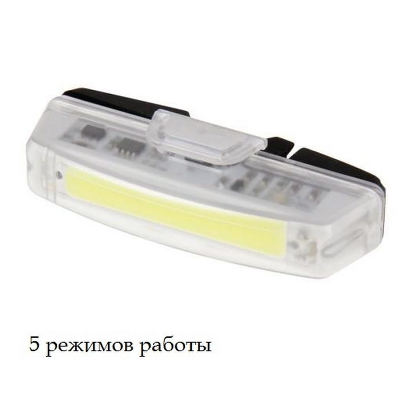 Светодиодный велосипедный фонарь RAYPAL RPL-2263 – 100 люмен, гибкое крепление, 5 режимов