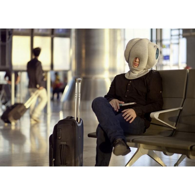 Подушка-страус Ostrich Pillow для послеобеденного сна на работе или отдыха в дороге 197480