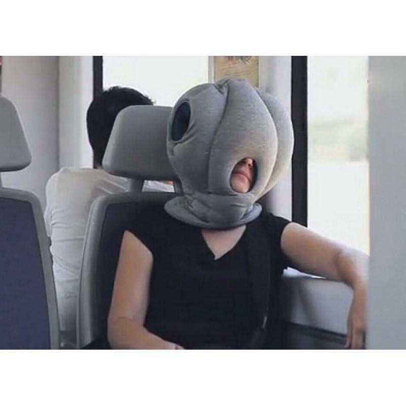 Подушка-страус Ostrich Pillow для послеобеденного сна на работе или отдыха в дороге 197482