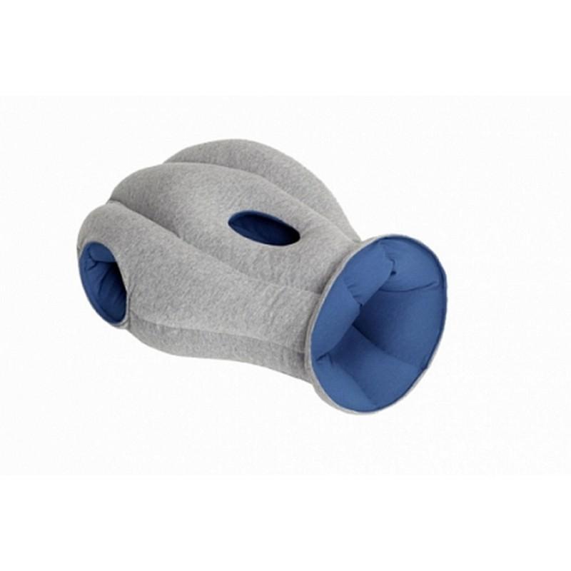 Подушка-страус Ostrich Pillow для послеобеденного сна на работе или отдыха в дороге - Синий