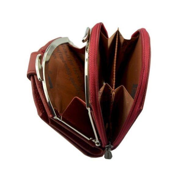 17542 - Женский кошелек-портмоне HORSE Imperial - натуральная кожа, отделения для купюр, мелочи и карт, 3 цвета