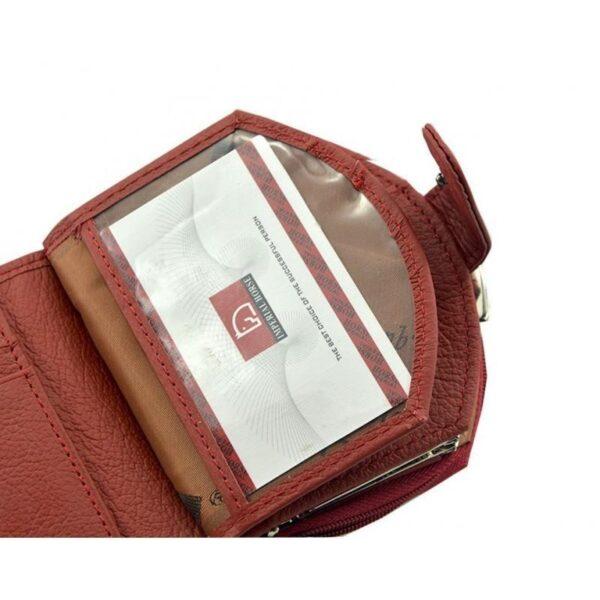 17544 - Женский кошелек-портмоне HORSE Imperial - натуральная кожа, отделения для купюр, мелочи и карт, 3 цвета