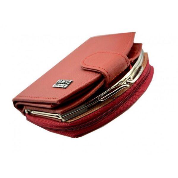 17545 - Женский кошелек-портмоне HORSE Imperial - натуральная кожа, отделения для купюр, мелочи и карт, 3 цвета