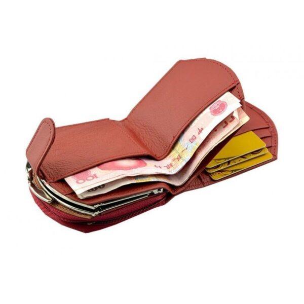 17547 - Женский кошелек-портмоне HORSE Imperial - натуральная кожа, отделения для купюр, мелочи и карт, 3 цвета