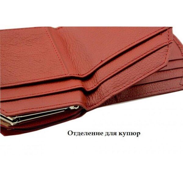 17556 - Женский кошелек-портмоне HORSE Imperial - натуральная кожа, отделения для купюр, мелочи и карт, 3 цвета