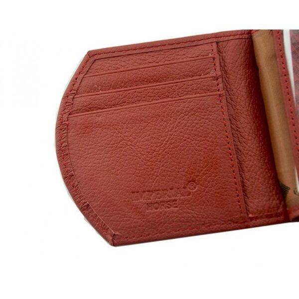 17561 - Женский кошелек-портмоне HORSE Imperial - натуральная кожа, отделения для купюр, мелочи и карт, 3 цвета