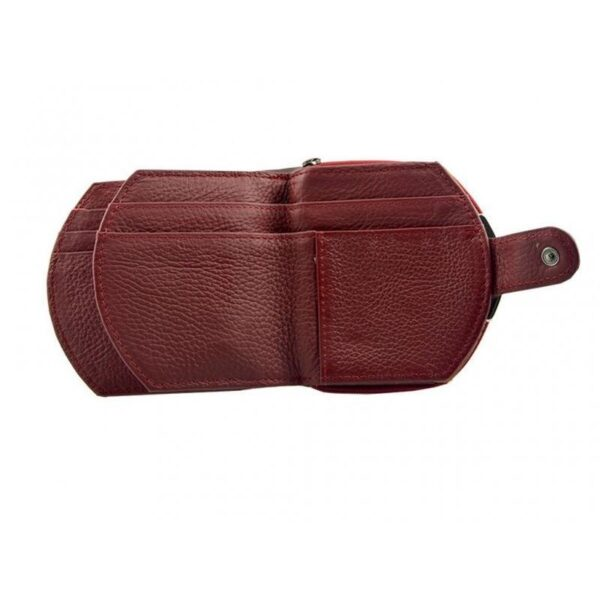 17573 - Женский кошелек-портмоне HORSE Imperial - натуральная кожа, отделения для купюр, мелочи и карт, 3 цвета