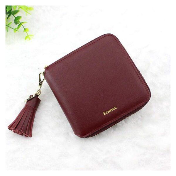 17589 - Изысканный женский кошелёк Fennec: кожа, 11 х 11 х 2 см