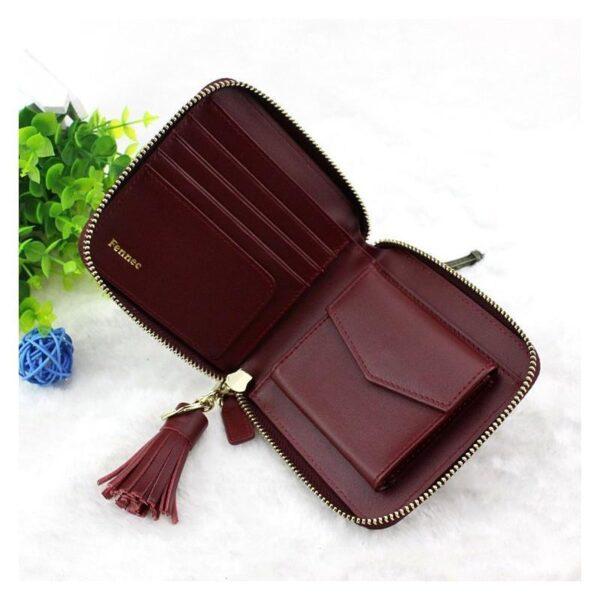 17590 - Изысканный женский кошелёк Fennec: кожа, 11 х 11 х 2 см