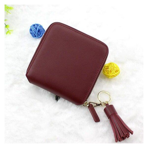 17591 - Изысканный женский кошелёк Fennec: кожа, 11 х 11 х 2 см
