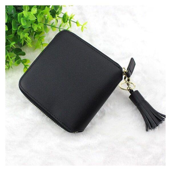 17595 - Изысканный женский кошелёк Fennec: кожа, 11 х 11 х 2 см