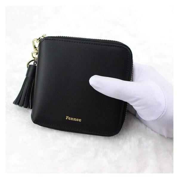 17597 - Изысканный женский кошелёк Fennec: кожа, 11 х 11 х 2 см