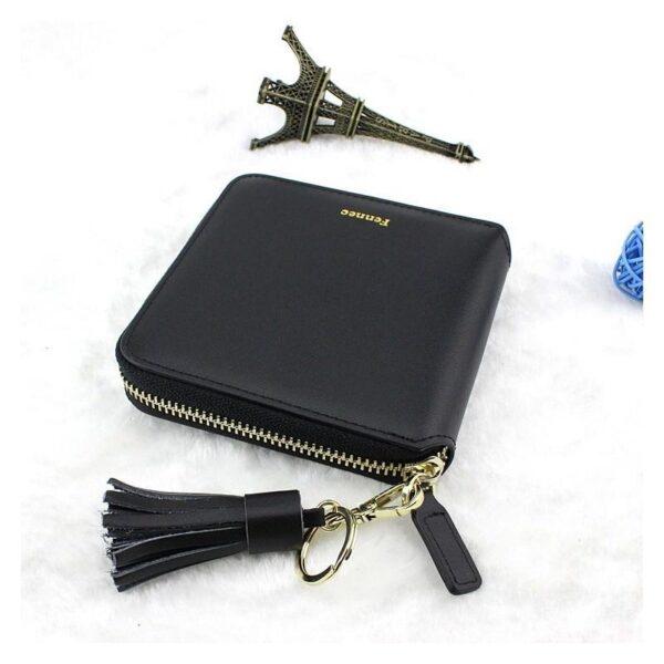 17598 - Изысканный женский кошелёк Fennec: кожа, 11 х 11 х 2 см