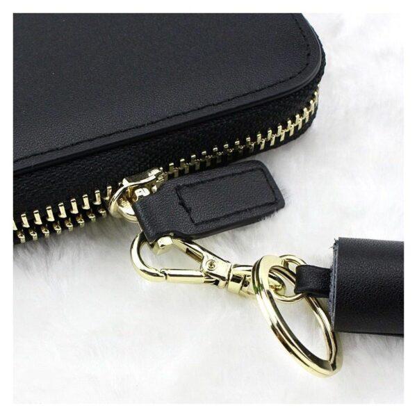 17600 - Изысканный женский кошелёк Fennec: кожа, 11 х 11 х 2 см
