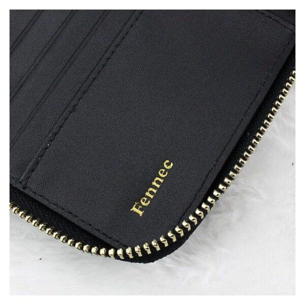 17601 - Изысканный женский кошелёк Fennec: кожа, 11 х 11 х 2 см
