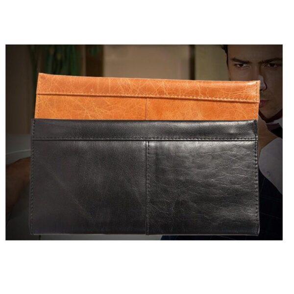 17604 - Классический женский кожаный кошелек Eleganti: натуральная кожа